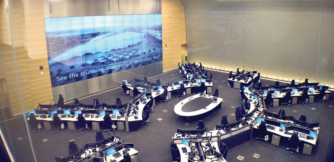 Ndia Terminal Qatar Airways Operation Centers Butec Contracting Company